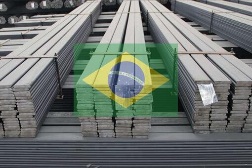 صادرات آهن و فولاد برزیل