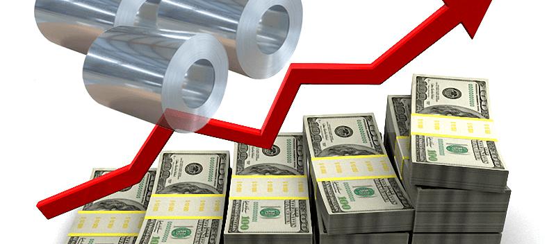 افزایش قیمت فولاد