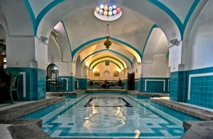 حمام ایرانی ، لوله گالوانیزه آب