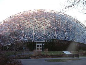 گلخانه کلایمترون واقع در باغ گیاهشناسی میزوری