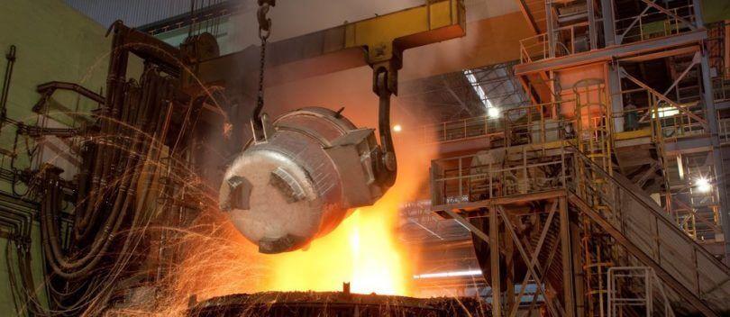 رشد صنعت فولاد