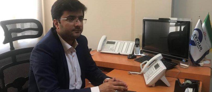 مدیرعامل شرکت تولید لوله و پروفیل کیهان