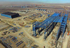 احداث و راهاندازی کارخانه فولاد در اردبیل