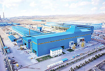 7 رکورد جدید تولید در مجتمع فولاد صنعت بناب